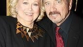 Congratulations, Barbara! Tom Wopat sings the praises of co-star Cook, whose last non-concert Broadway appearance before Sondheim on Sondheim was back in 1972's Enemies.