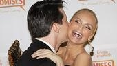 Promises, Promises opening – Sean Hayes – Kristin Chenoweth (kiss)