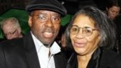 Before the show, original Fences mother and son Courtney B. Vance and Tony winner Mary Alice have a happy reunion on the red carpet.