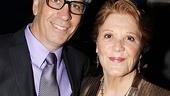 Linda Lavin gets stalwart support from her husband, Steve Bakunas. (Fun fact: He directed her in Collected Stories at their Red Barn Theatre in North   Carolina.)