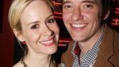 Collected Stories Opening Night – Sarah Paulson – Jason Butler Harner
