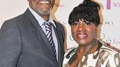 New star LaTanya Richardson Jackson is congratulated by hubby Samuel L. Jackson (perhaps you&#39;ve heard of him?).