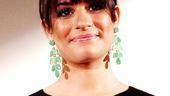 Glee&amp;rsquo;s Lea Michele comes home to Broadway to help announce this year&amp;rsquo;s Tony nominees.