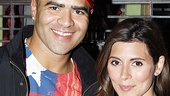 Jamie Lynn Sigler at In the Heights – Christopher Jackson – Jamie Lynn Sigler