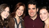 Brian d'Arcy James Returns to Next to Normal – Meghann Fahy – Jessica Phillips – Brian d'Arcy James – Jennifer Damiano
