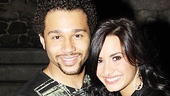Demi Lovato at In the Heights – Demi Lovato – Corbin Bleu – two shot
