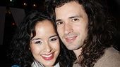 Another cute Broadway couple: Hairs Paris Remillard and girlfriend Courtney Reed of In the Heights. 