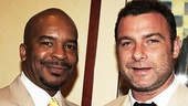 Race star David Alan Grier cracked up plenty of fellow nomineesLiev Schreiber, who starred in A View from the Bridge included.