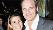 Burnt Part star Michael Park (who's also celebrating a Daytime Emmy nomination for As the World Turns) is accompanied with his lovely wife, Laurie.