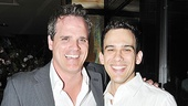 Like father, like son: Michael Park and Charlie Brady are stalwart men of the mines in The Burnt Part Boys. 