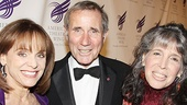 Looped star and Best Actress nominee Valerie Harper, Tony winner Jim Dale and his wife Julie make for a mahvelous group, dahling!