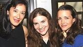 Brave New World Producing Artistic Director J. Dakota Powell, Associate Artistic Director Erica Gould and Kristin Davis.