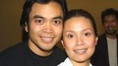 Flower Drum Song sweethearts Jose Llana and Lea Salonga.