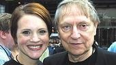 Urinetown stars Jennifer Laura Thompson and John Cullum.