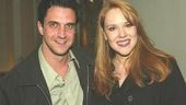 Raul Esparza and Emily Skinner, who both starred in Merrily We Roll Along at the Sondheim Festival at the Kennedy Center this summer.
