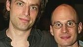 The World Over star Justin Kirk and playwright Keith Bunin.