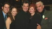 Smiling Stars: Steven Pasquale, Sally Murphy, Roger Rees, Faith Prince and Charles Keating.