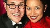 Director/choreographer Robert Longbottom and his leading lady Lea Salonga.