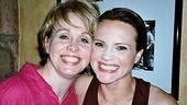 Urinetown stars and 2002 Lead Actress Tony nominees Nancy Opel & Jennifer Laura Thompson.