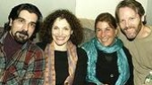 Choreographer Luis Perez, Mastrantonio, producer Susan Quint Gallin and Bogardus.