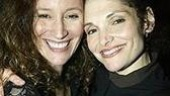 Friends since their early struggling actress days in New York City: Barbara Walsh and Mary Elizabeth Mastrantonio.