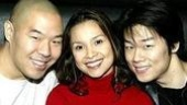 Flower Drum Song castmates Hoon Lee, Lea Salonga and Allen Liu.