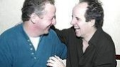 Funny men Daniel Stern and John Pankow share a laugh.