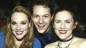 Co-stars Emily Skinner, Jim Poulos and Donna Lynne Champlin.