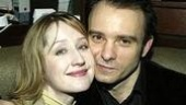 Lauren Ward and hubby Matthew Warchus.