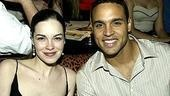 Broadway newbies Tammy Blanchard and Daniel Sunjata.