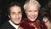 Burstyn with Darren Aronofsky, who directed her Oscar-nominated turn in Requiem for a Dream.