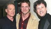 Charles Kimbrough with two TV dads:  Christopher Sieber and Charles Shaughnessy.