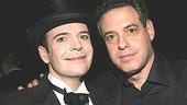 I Am My Own Wife star Jefferson Mays with proud producer David Richenthal.
