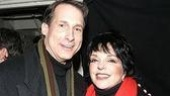 Leading man Gregg Edelman with Minnelli.
