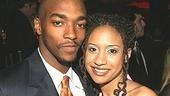 Crow cohorts Anthony Mackie and Tracie Thoms.
