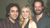 Jason Antoon with cast membersTina Benko and Danny Mastrogiorgio.