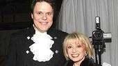 Sweeney Todd starsMark Delavan and Elaine Paige.