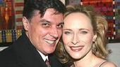 Robert Cuccioli congratulates his honey, Frozen star Laila Robins.