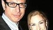 Jeff Goldblum& Catherine Wreford