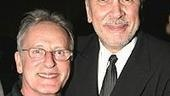 Frank Langella (right) with Alphonse Poulin, the inspiration for the character he plays in Match.