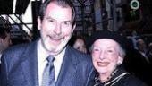 A snazzy pair: Richard Easton and Ann Kaufman Schneider.