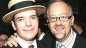 I Am My Own Wife winners Jefferson Mays (Outstanding Solo Performance) and  Doug Wright (Outstanding Play).
