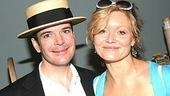 Jefferson Mays (I Am My Own Wife) and Essie Davis (Jumpers).
