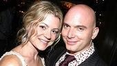 Cerveris with Assassins co-star Kendra Kassebaum.
