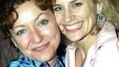 Fiction star Julie White with her buddy, Tony winner Cady Huffman.