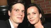 Krause and Six Feet Under castmate Rachel Griffiths.