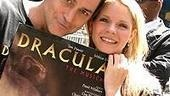 "Dracula lovers Tom Hewitt and Kelli O'Hara performed the duet ""Life After Life."""