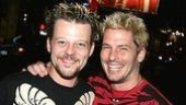 Two Rogers: Jeremy Kushnier (currently in Rent) and Cary Shields