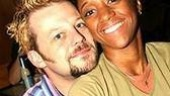 Jeremy Kushnier and Krystal L. Washingtonplay East Village lovers Roger and Mimi.