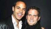 Theater stars Daniel Sunjata and Steven Pasqualenow play firefighters on the hit FX series Rescue Me.